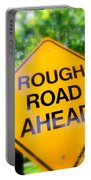 Rough Road Ahead Portable Battery Charger