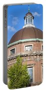 Round Lutheran Church In Amsterdam Portable Battery Charger