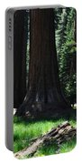 Round Meadow Sequoia Family Portable Battery Charger
