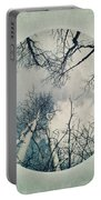 round treetops II Portable Battery Charger by Priska Wettstein