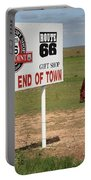 Route 66 - Adrian Texas Portable Battery Charger