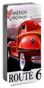 Route 66 America's Highway Portable Battery Charger
