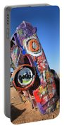 Route 66 Cadillac Ranch Portable Battery Charger