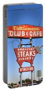 Route 66 - Cattleman's Club And Cafe Portable Battery Charger