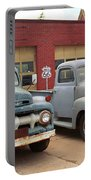 Route 66 Classic Cars Portable Battery Charger