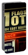 Route 66 Flagstaff Motel Portable Battery Charger