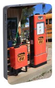 Route 66 Gas Pumps Portable Battery Charger