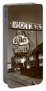Route 66 - Glancy Motel Portable Battery Charger