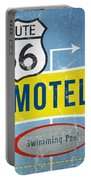 Route 66 Motel Portable Battery Charger