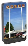 Route 66 - Munger Moss Motel Portable Battery Charger