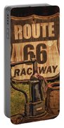 Route 66 Raceway Portable Battery Charger