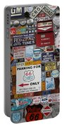 Route 66 Signs Portable Battery Charger