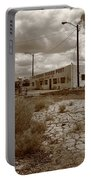 Route 66 - Twin Arrows Trading Post Portable Battery Charger