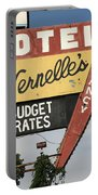 Route 66 - Vernelle's Motel Portable Battery Charger