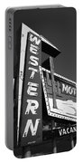Route 66 - Western Motel 7 Portable Battery Charger