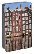 Row Houses In Amsterdam Portable Battery Charger