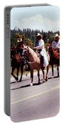 Row Of Horses Portable Battery Charger