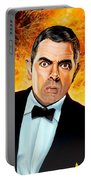 Rowan Atkinson Alias Johnny English Portable Battery Charger
