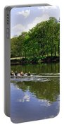 Rowing Practice - Near Branston Portable Battery Charger