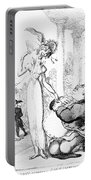 Rowlandson: Cartoon, 1810 Portable Battery Charger