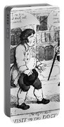 Rowlandson: Cartoon Portable Battery Charger