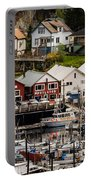 Rows Of Houses And Sails Portable Battery Charger
