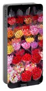 Rows Of Roses Portable Battery Charger