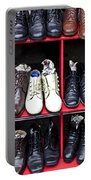 Rows Of Shoes Portable Battery Charger