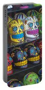 Rows Of Skulls Portable Battery Charger