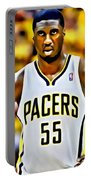 Roy Hibbert Portable Battery Charger by Florian Rodarte