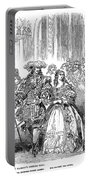 Royal Costume Ball, 1851 Portable Battery Charger