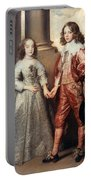 Royal Couple, 1641 Portable Battery Charger