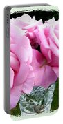 Royal Kate Roses Portable Battery Charger by Will Borden
