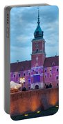 Royal Palace In The Old Town Of Warsaw Portable Battery Charger