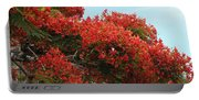 Royal Poinciana Branch Portable Battery Charger