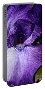 Royale Purple Petals Portable Battery Charger