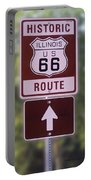 Rt 66 Signage Portable Battery Charger
