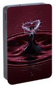 Rubies And Diamonds Portable Battery Charger
