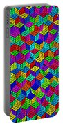 Rubik's Cube Abstract Portable Battery Charger