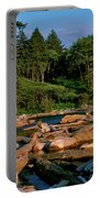 Ruby Bay North Pacific Ocean Portable Battery Charger