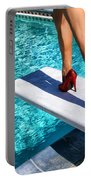 Ruby Heels Ready For Take-off Palm Springs Portable Battery Charger