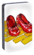 Ruby Slippers The Wizard Of Oz  Portable Battery Charger