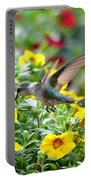 Ruby Throated Hummingbird Portable Battery Charger
