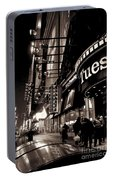 Ruby Tuesday's Times Square - New York At Night Portable Battery Charger