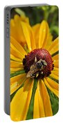 Rudbeckia Bee Portable Battery Charger
