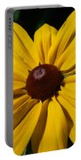 Rudbeckia Macro Portable Battery Charger