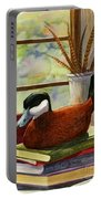 Ruddy Duck Decoy Portable Battery Charger