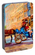 Rue Notre Dame Caleche Ride Portable Battery Charger