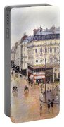 Rue Saint Honore Afternoon Rain Effect Portable Battery Charger