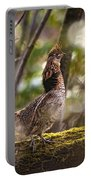 Ruffed Grouse Side Pose Portable Battery Charger